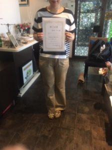 セラピスト資格取得、リンパドレナージュを学ぶ静岡県沼津市
